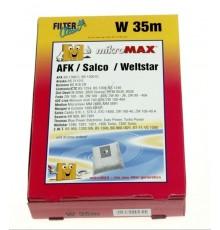 Bolsa aspirador Dirt Devil Classic (4 uds + 1 filtro) microfibra