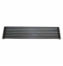 Rejilla ventilación para horno y frigorífico negra