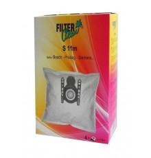 Bolsa aspirador Bosch, Siemens, Ufesa (4 uds + filtro) microfibra
