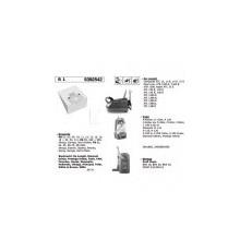 Bolsa aspirador papel Delonghi (5 uds.)  000051-K