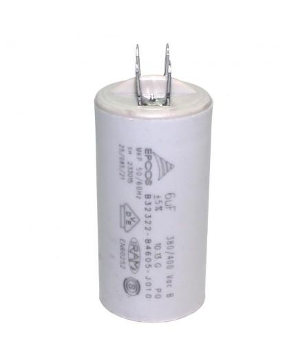 Condensador lavadora permanente 22 MF / 450V