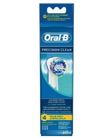 Repuesto cepillo dental Braun Oral B Precision Clean 64703704